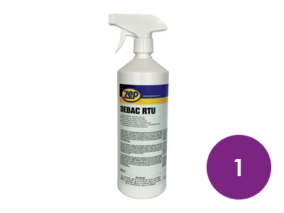 1 x Anti Virus/Fungal Surface Cleaner