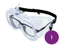 1 x Lightweight Safety Goggles