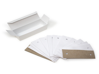 Slit Lamp Chin Papers - Box of 1000