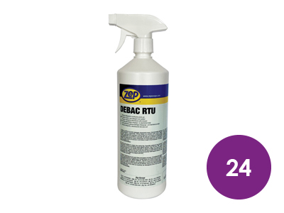 24 x Anti Virus/Fungal Surface Cleaner
