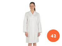 Ladies Full Length White Lab Coat