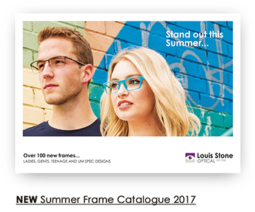 NEW Summer Frame Catalogue 2017