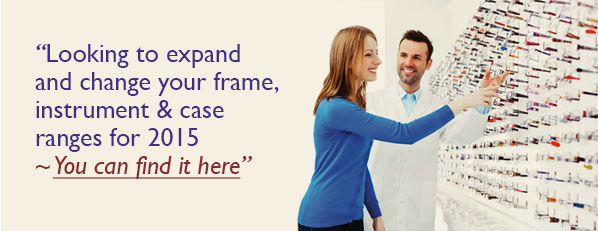 Looking to expand and change your frame, instrument and case ranges for 2015. You can find it here.